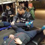 今年も糸島110キロウォークのトレーナー活動に行ってきました。